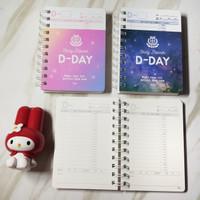 Buku daily planner - 240 days