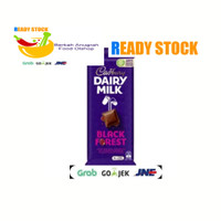 Cadbury Dairy Milk Black Forest Chocolate Block 180g