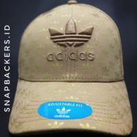 Topi Adidas Cream Motif Emas Logo krem Topi Adidas krem Topi Import
