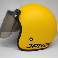 Helm JPN ARC kuning doff