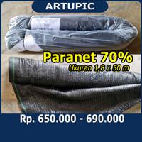Paranet Jaring 70% Satu Rol 1,8x50m Shading Net Kandang Ayam Perkebuna