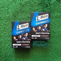 L-Men Gain Mass Chocolate 500 Gram / Susu LMen Suplemen Fitnes L Men
