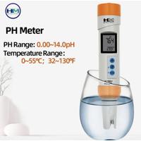 HM Digital PH-200 Waterproof PH Meter Temperature with Automatic