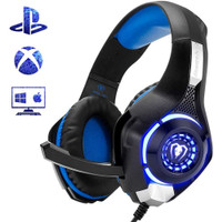Beexcellent Gaming Headphone Headset LED with Mic - GM-1