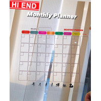 Acrylic / Akrilik Monthly Planner / Weekly Planner / Daily Planner