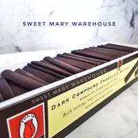 Chocolate Sticks Batons Tulip Compound Sticks Stik Coklat 500gr MURAH