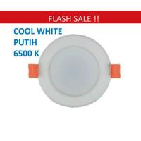Lampu Downlight LED Panel Lamp 3W PUTIH 3 w watt 3watt COOL WHITE Down