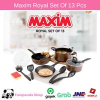 Panci Set Maxim Royal Set of 13 Teflon Wajan Maxim