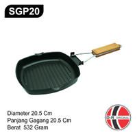 SGP20 Wajan Steak Anti Lengket 20CM / Non Stick Grill Pan
