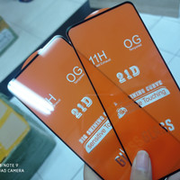 Tempered Glass Full Cover Infinix Hot 10