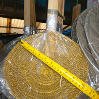 Saringan Mie Kuningan Asli No 10 (diameter 25 cm)