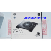 Cooling Pad Cooler Master CMC3 Silent Fan Kipas Kuat Laptop 154 in