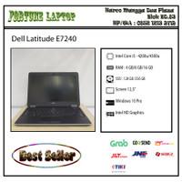 Dell Latitude E7240- Core i5 -RAM 4 GB -SSD 128 Gb -Camera - RAM 4-SSD 128
