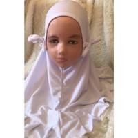 Jilbab Anak Kamis Kids - Putih