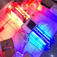 LAMPU ROTATOR SIRENE PATWAL LED LIGHT BAR TOA PATWAL AMBULAN DAMKAR