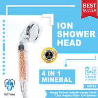 4in1 Mineral Ion Shower Head|| Water Filter Ionizer for Healthy Life