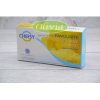Cheddar Cheese / Keju Cheddar Olahan / Keju Favourite Cheesy 170g