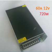 radio power supply LED 12v 60a light box lighting 720w tape mobil