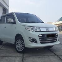 Suzuki Karimun Wagon GS Matic Putih 2017 Km 33ribuan Cash 105 Jt NEGO
