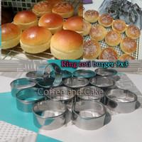 Ring Cutter Motif Bulat / Cetakan roti ukuran 9x3 isi 1 lusin