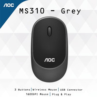 AOC MS310 Silent Wireless Mouse GREY ORIGINAL