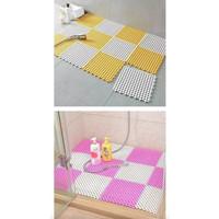 Promo Home Bathroom Mats / Tatakan Keset Kamar Mandi Anti licin (4PCS)