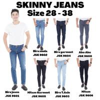 Celana Skinny Jeans Pria Jumbo BIG SIZE JSK JEANS - Isi Dicatatan, 28