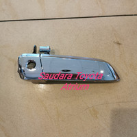 Handle handel pintu luar hiace commuter depan kanan chrome