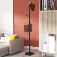 Stand Hanger/Gantungan Tiang Berdiri/Gantungan Bercabang Pohon 8 HOOKS - Hitam
