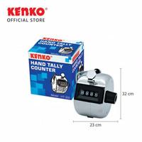 Hand Tally Counter Stainless Steel Kenko HT-302
