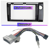 Frame 9 Inch Head Unit Android Honda Brio Android