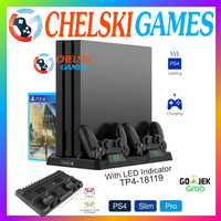DOBE Multifunctional Charging & Cooling Stand PS4 Pro/Slim/Fat - 18119