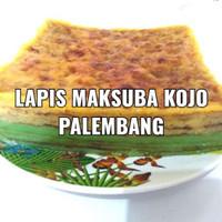 Maksuba Kojo - kue basah khas palembang 1 loyang uk 20*20