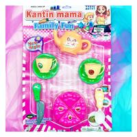Mainan masak masakan kantin mama kitchen fun v2