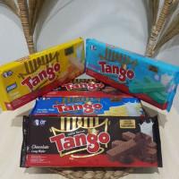 TANGO Wafer 130 gr (Tersedia rasa Coklat, Vanilla, Keju, Bubblegum)