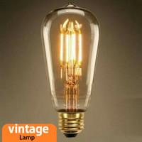 Lampu LED Filamen 4 watt Edison 4w / Filament LED 4 w bulb 4watt Desai