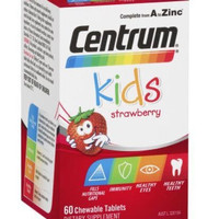 centrum kids strawberry multivitamin