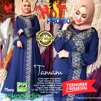 GAMIS BORDIR TURKEY TAMAM JERSEY SUPER SIZE JUMBO