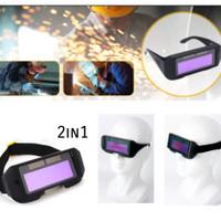 headband kacamata pelindung tukang las welding helmet masker solder