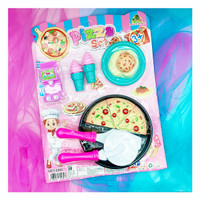 mainan masak masakan pizza set