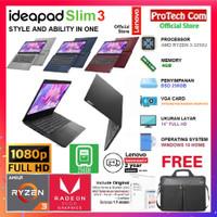 LAPTOP LENOVO IDEAPAD SLIM 3 - AMD RYZEN 3-3250U 4GB 256GB 14 FHD W10