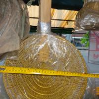 Saringan Mie Kuningan Asli No 12 (diameter 30 cm)