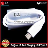 Kabel Data LG V20 V30 V30 Plus Original 100% Fast Charging USB Type C