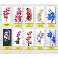 Hiasan Dinding Walldecor Poster Bunga Dekorasi Rumah Hiasan Tamu 20x40