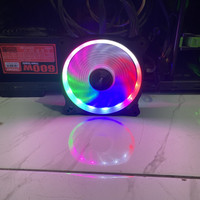 POWER UP LOOP RGB Fan Casing 12CM Single RING LED Fan Case 120mm