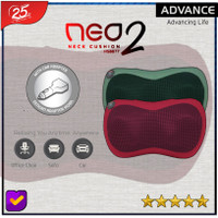 BANTAL PIJAT PORTABLE BANTAL PIJAT LEHER ADVANCE NEO NECK CUSHION 2