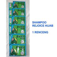 Shampoo REJOICE HIJAB 3IN1 1 Renceng 2x12 Sachet @5ml