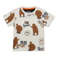 ORKIDS Baju Kaos Anak Bear Skb Bw