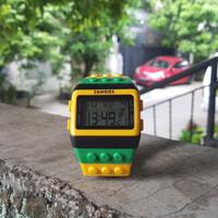 jam tangan SHORRS lego watch dewasa anak pria wanita free box kayu