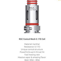 SMOK RPM 80 Conical Mesh 0.17 Ohm Authentic Replacement Coil RPM 80